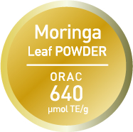 Moringa Leaf POWDER ORAC 640 μmol TE/g